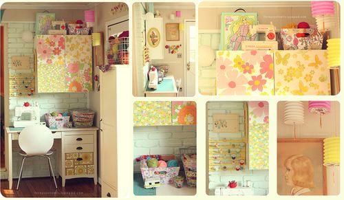 Danielle's studio