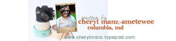Cheryl banner