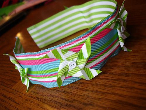 Pinwheel headband
