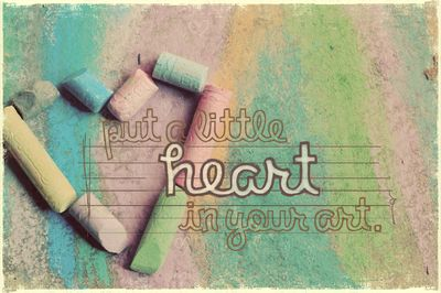 Heart in your art