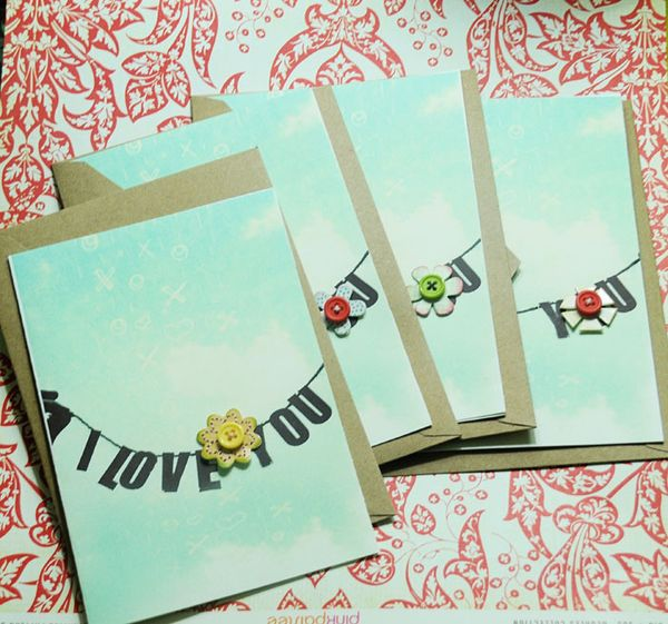 I love you cards 1