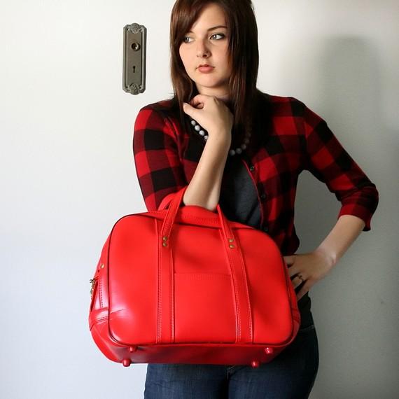 Camera bag red