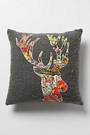 Hd deer pillow