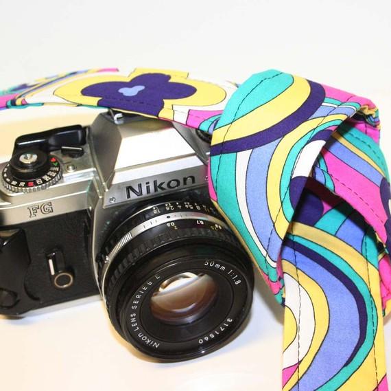 70s camera strap
