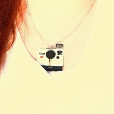 Polariod necklace