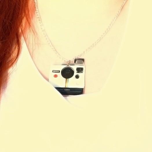 Polariod necklace