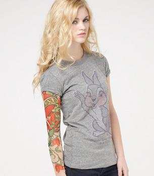 Fake tattoo sleeve