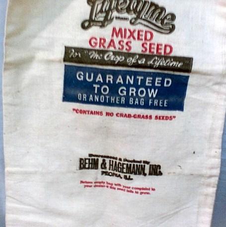Lifetyme grass seed bag